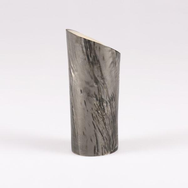Tacco in abs rivestito in resina effetto pietra