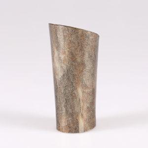 Tacco in abs rivestito in resina effetto corno