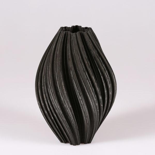 Articolo decorativo in PLA nero