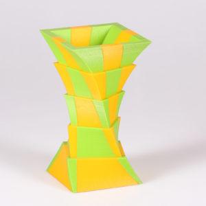 Vaso in PLA bicolore