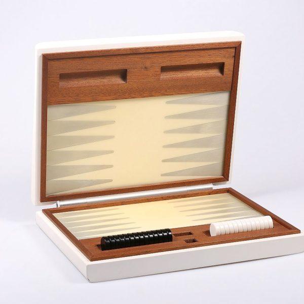 Scacchiera portatile in legno e resina